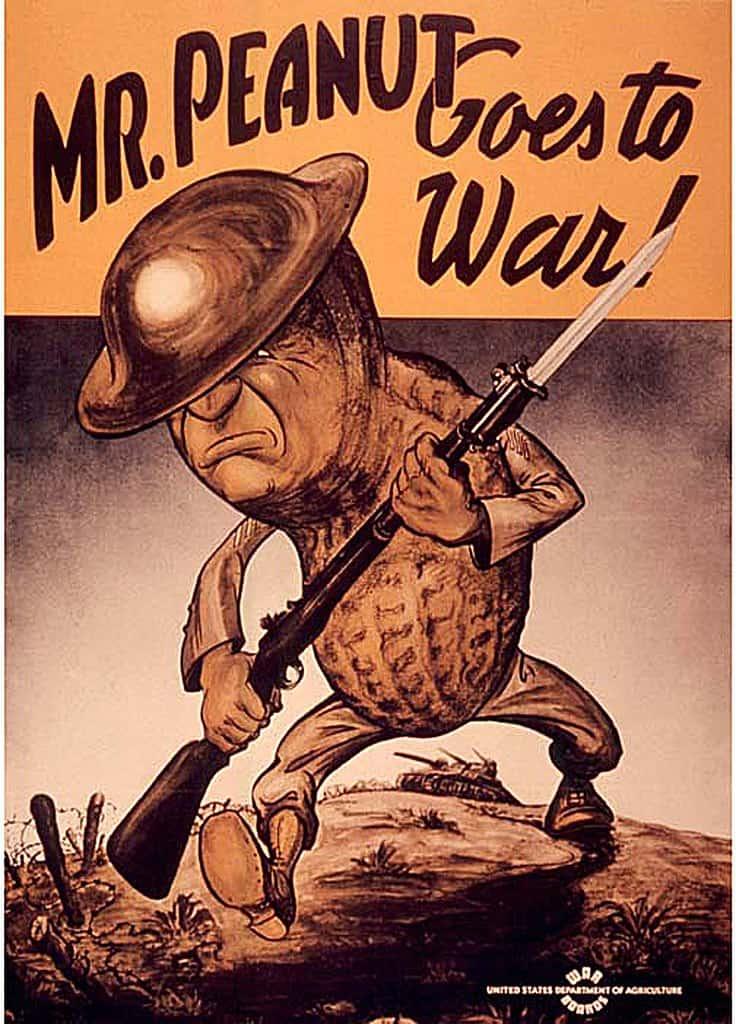 common idiom origins: Mr Peanut