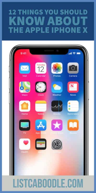 Things You Should Know about the Apple iPhone X image