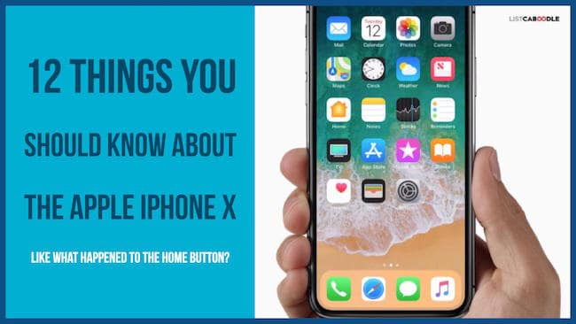Iphone X things you should know image
