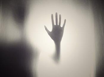 Spooky hand image