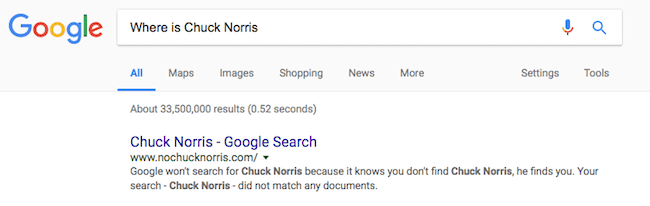 Where is Chuck Norris image