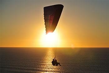 Bucket list idea: paragliding image