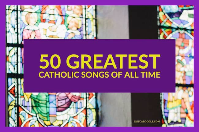 Best catholic hymns image listcaboodle for Greatest house tracks of all time