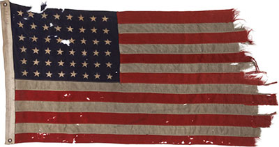 Famous American Flag: d-day flag image