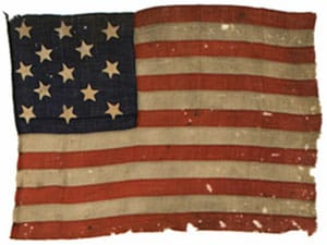 Famous American Flag: fort stanwix flag image