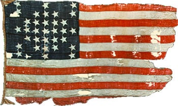 Famous American Flag: Fort Sumter Flag image