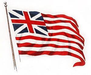 Famous American Flag: Grand Union Flag image