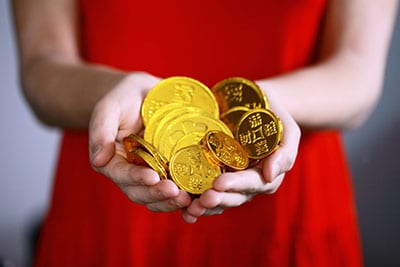 Gold coins image