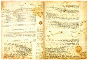 Leonardo da Vinci's Codex Leicester image