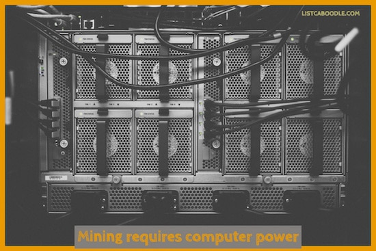 What is Bitcoin mining image