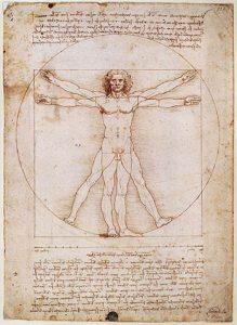 Leonardo da Vinci's Vitruvian Man image
