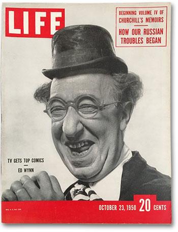 Ed Wynn Life Magazine