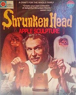 Vincent Price's Shrunken Head Kit