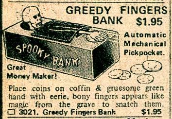 Greedy Fingers Bank