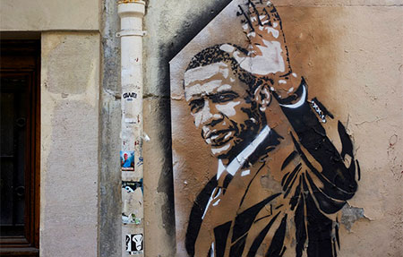 Presidents that are left handed