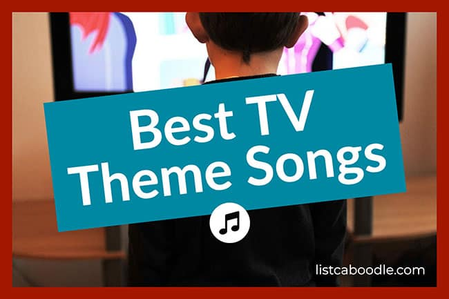 best tv theme songs image