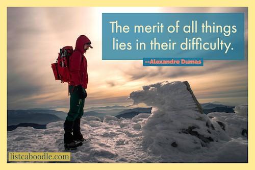 Short positive quotes: Alexander Dumas quotation image