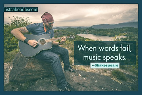When words fail, music speaks image