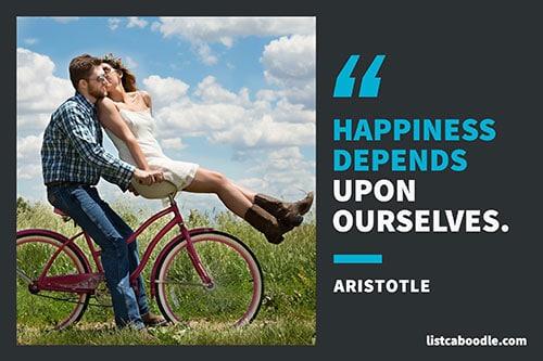 Short deep quotes: Aristotle quote