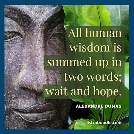 Short deep quotes: Dumas quote