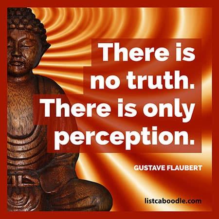 Short deep quotes: Flaubert quote