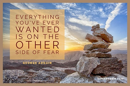 Short positive quotes: George Addair quote