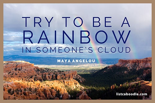 Short positive quotes: Maya Angelou quote
