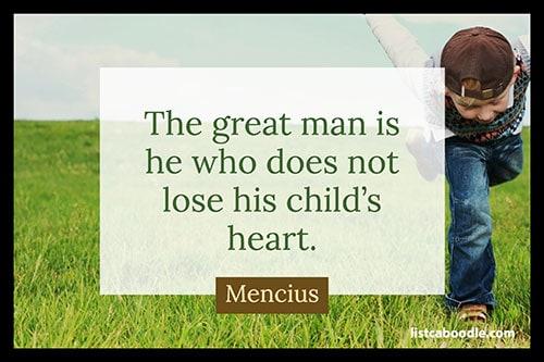 Mencius quote