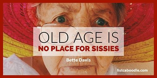 Old age adage