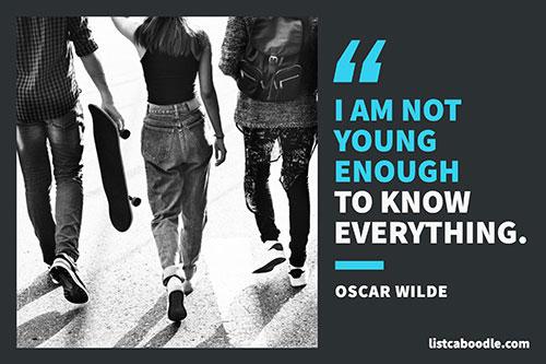 Oscar Wilde quote image
