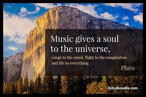 Plato music quote