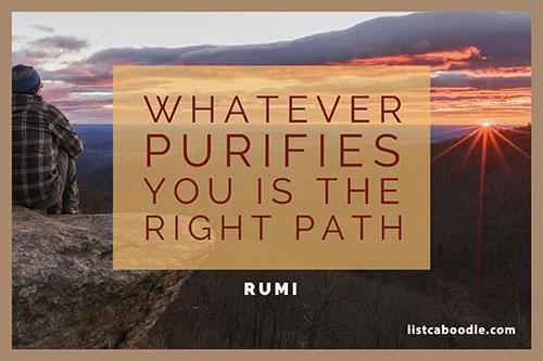 Right path quote