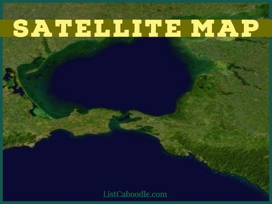 satellite maps image