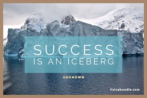 Short positive quotes: Success quote