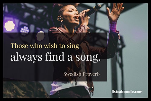 Swedish Proverb quote