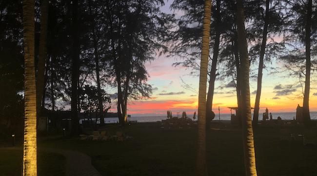 Phuket sunset image