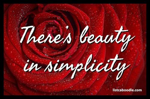 Beauty in simplicity meme