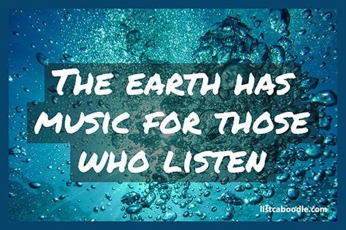 Tattoo Quotes: Earth music meme