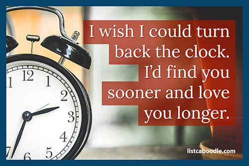 Short love quotes: Love you longer quote