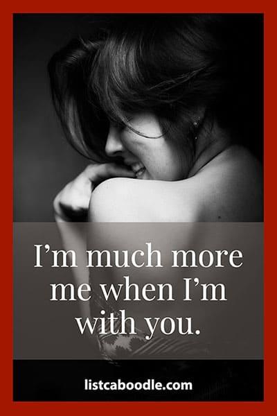 Short romantic sayings for him