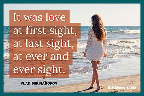 Short love quotes: Nabokov quote
