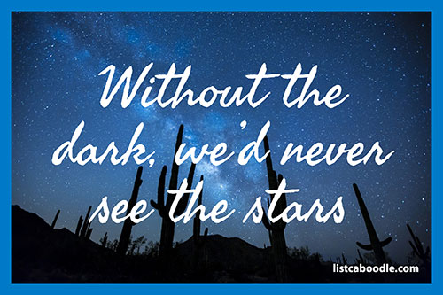 Tattoo Quotes: See the stars meme