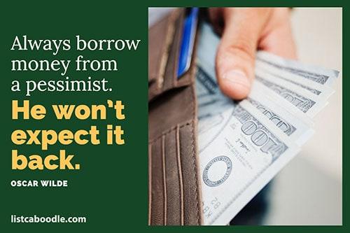 Funny money quote