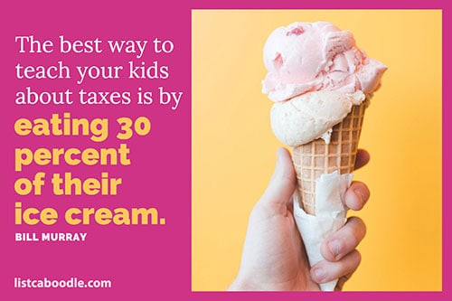 Funny taxes quote