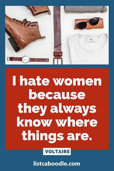 Women superiority joke