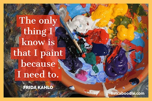 Frida painting quote