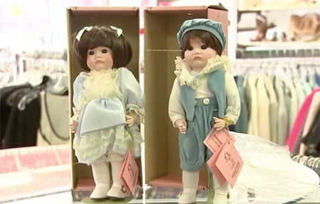 Porcelain doll thrift treasures image