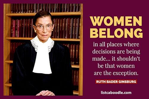 Ruth Bader Ginsburg quote