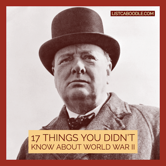 17 Things You Didn't Know About WWII image