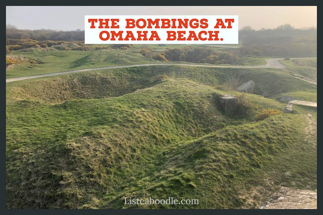 bombing-effects-at-Omaha-Beach-image